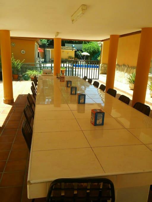 cenador exterior