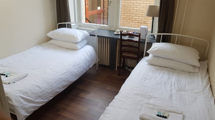 Private Twin Room  - Alba Hostel Glasgow