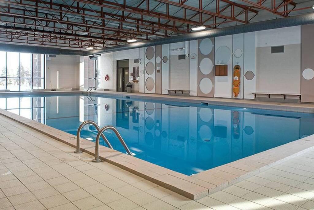 20 meter indoor pool open year round
