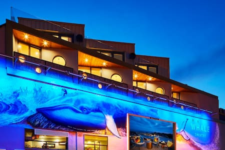 Dramatic coastal loft living at Whale Theatre