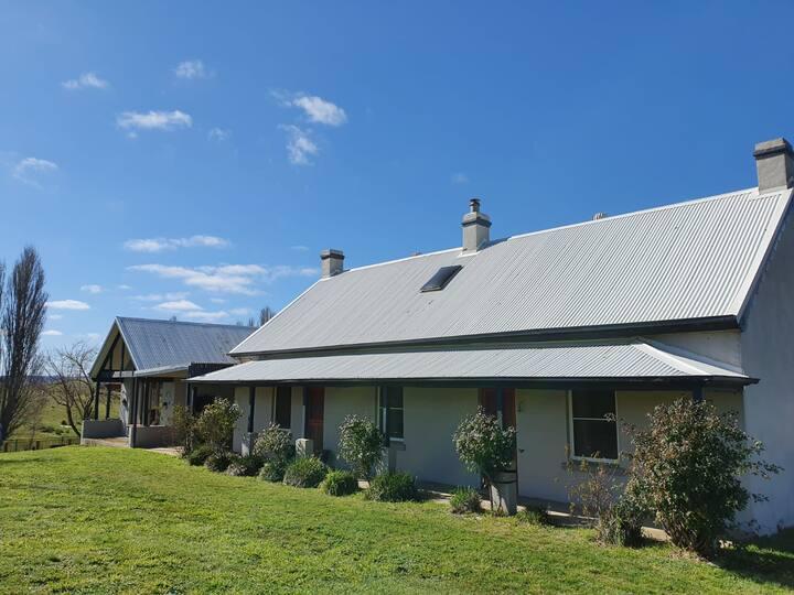 Hazeldean Farmhouse sleeps 8-15 people with pool