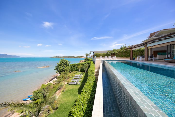VILLA MANTA SAMUI - Your Private Oceanfront Oasis!