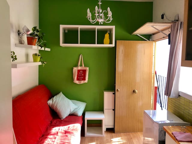 Cosy small studio in the heart of Lavapies Madrid