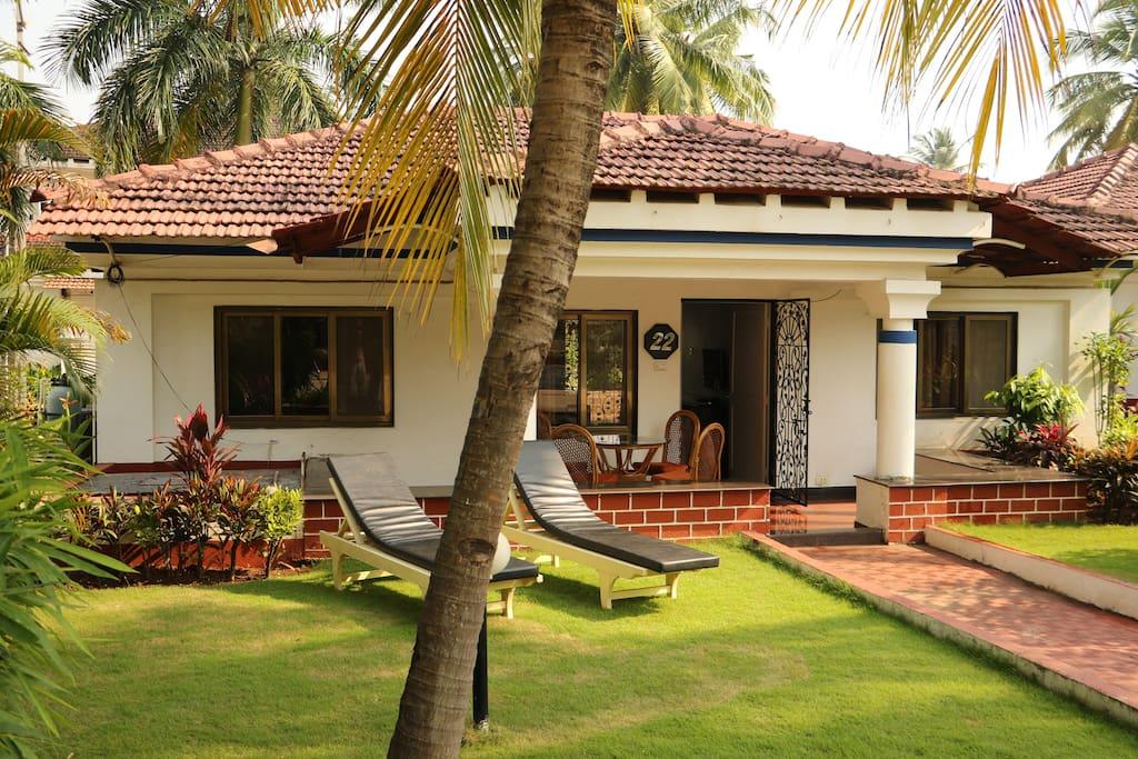 Front of Villa Maya