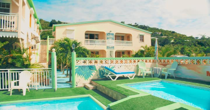 SXM APPARTEMENT 4 PERS FRIAR'S BAY