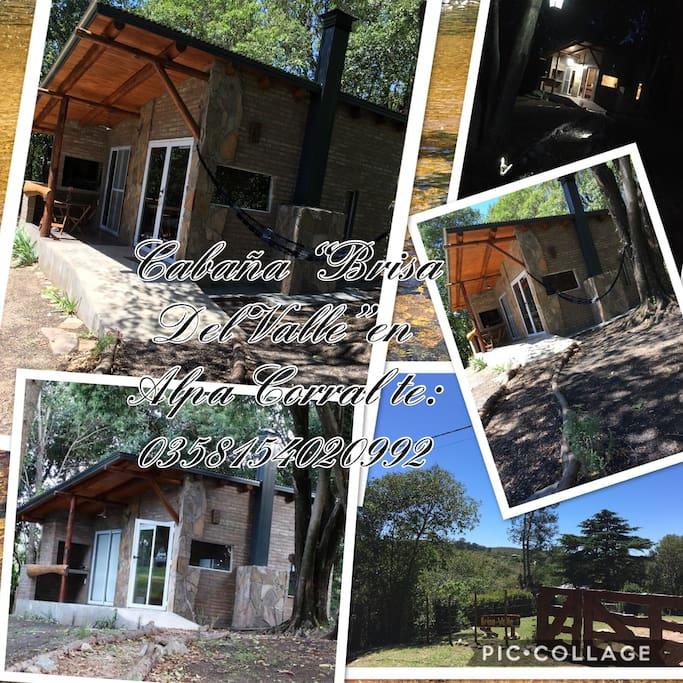 """Cabaña """"Brisa Del Valle"""" en Alpa Corral"""