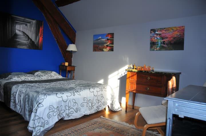 Chambre privée n°1 à 25 mn Roissy