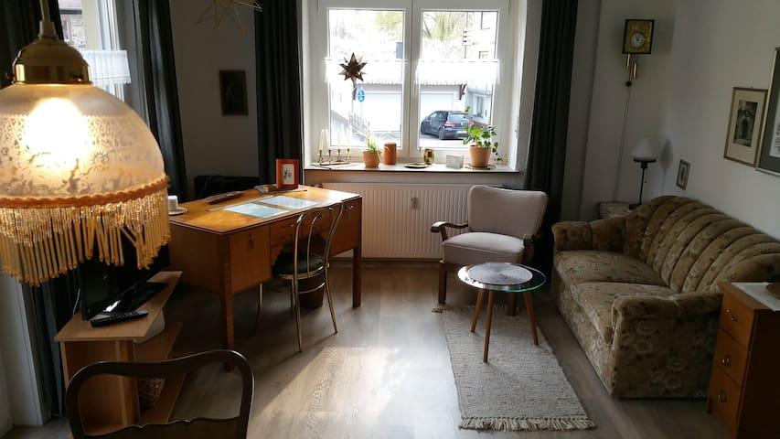 Gemütliche (komplette) Wohnung im Stadtzentrum!!