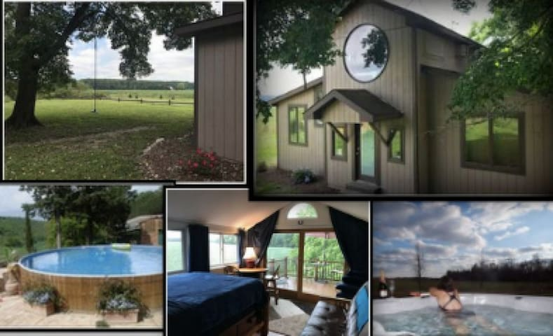 *COUNTRY HIDEAWAY,  Smores, Jacuzzi, Beach 19M