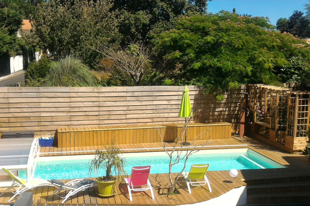 Wood ocean private swimming pool near bayonne apartments for rent in boucau aquitaine france Where can i buy a swimming pool near me