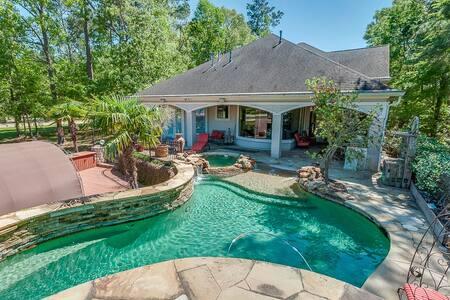 Gorgeous waterfront house - Montgomery - Ferienunterkunft