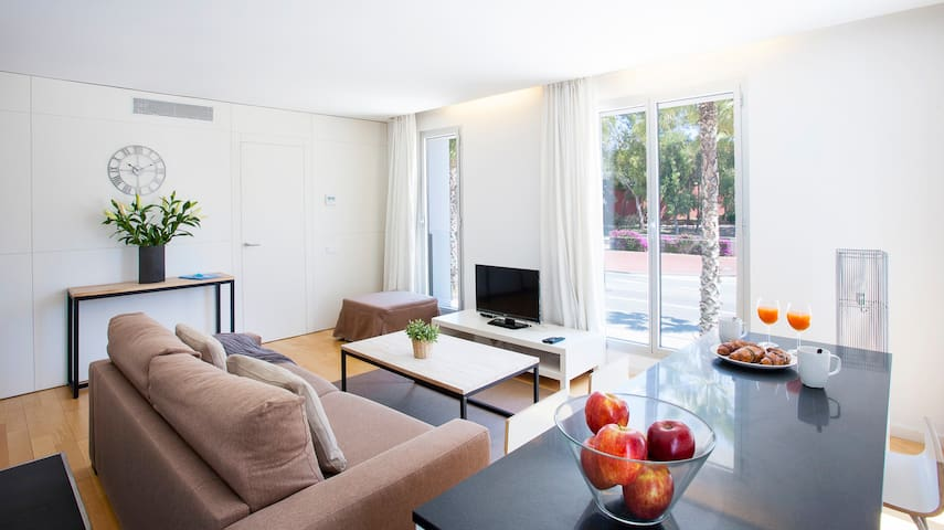 100m away from the beach 1 bedroom apart