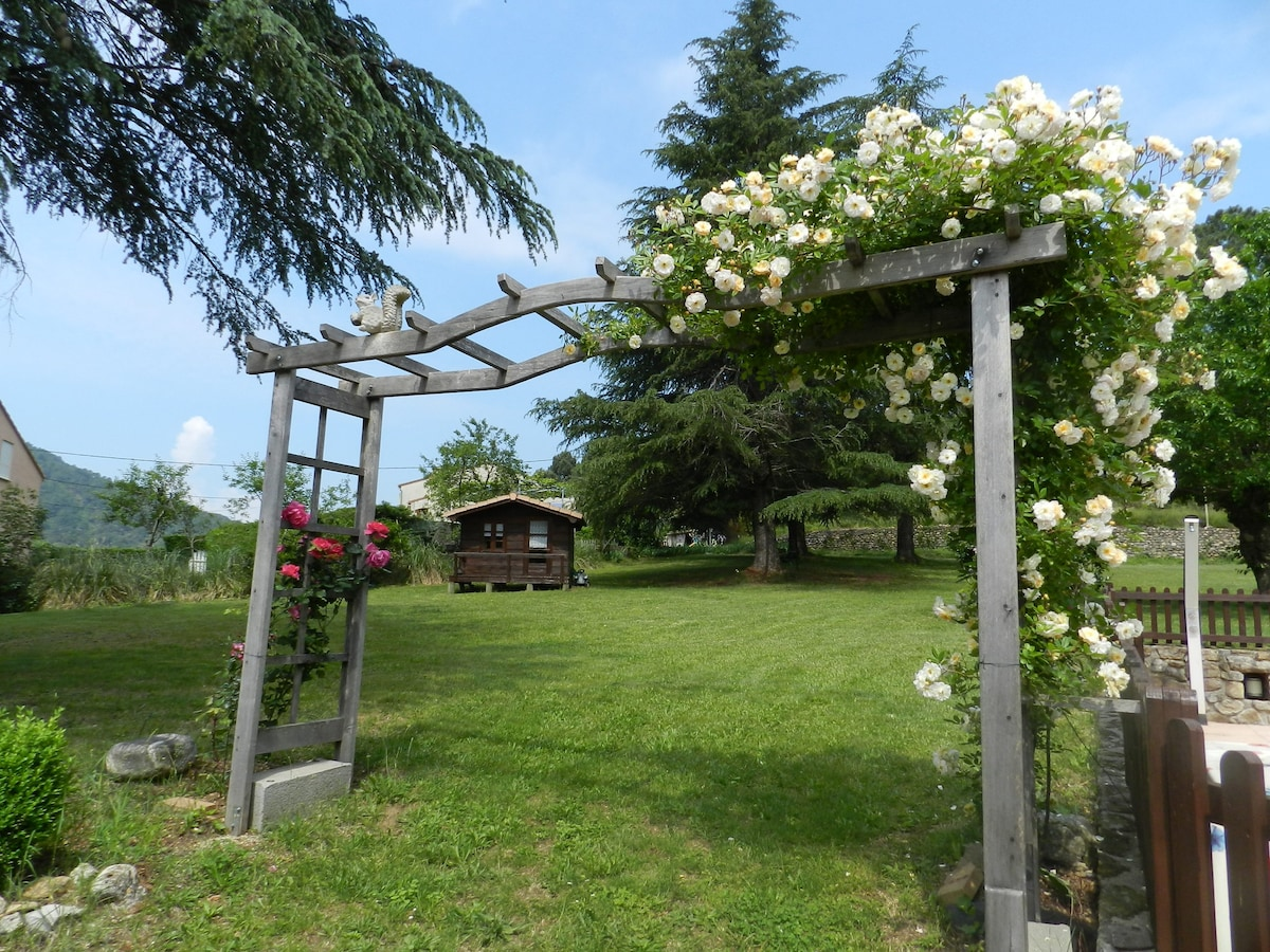 Cevennes Holiday Rental With Pool In Park   Flats For Rent In  Saint Jean Du Gard, Occitanie, France