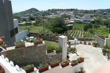 Vista del paese Panza