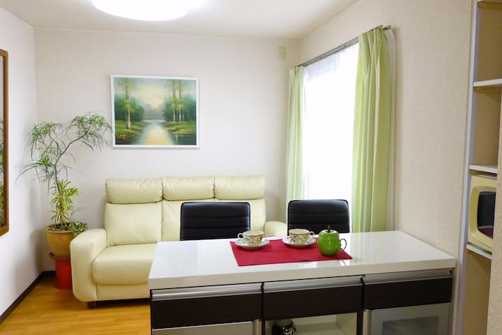 Stay in green space & quick access to Osaka City