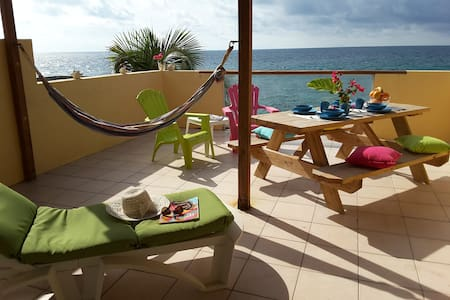 Superior Ocean front two bedroom apartment - Philipsburg - Appartamento
