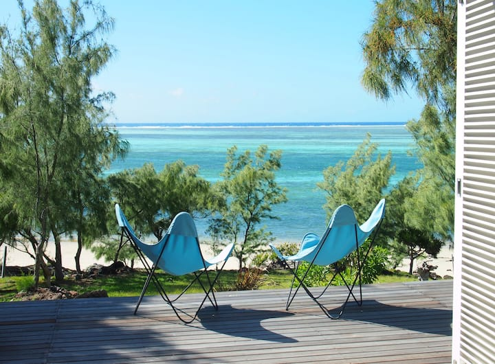Bakwa Lodge Beachfront villa, a haven in Rodrigues