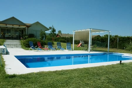 Casa a orillas de lago Rapel con piscina y muelle - Rapel
