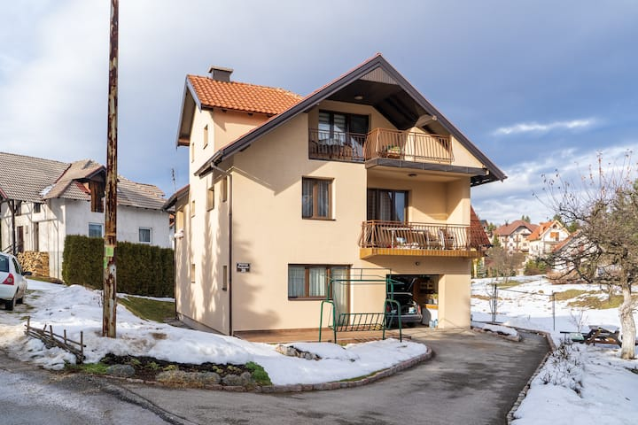 Family 2 BDR Apartment In The Heart Of Zlatibor