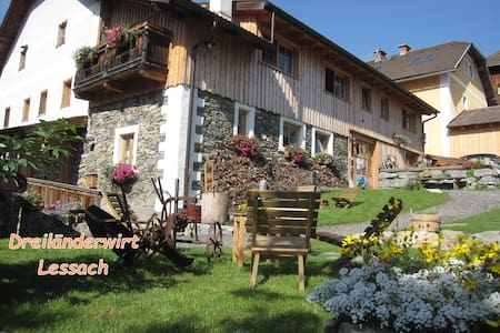 Comfort apartment in old farm house - Lessach - Appartement