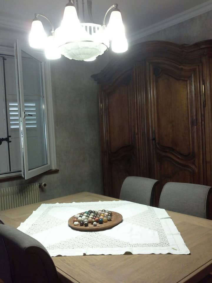 Charmante chambre privée en campagne très calme