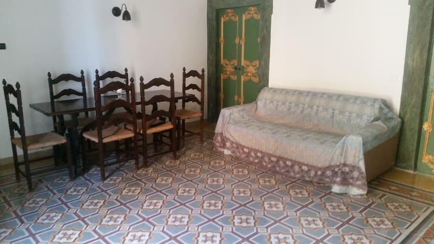La casa del SIRE, appartamento vecchio stile