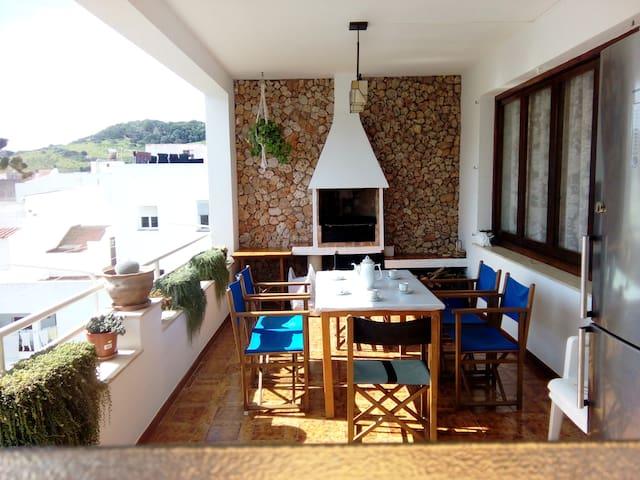 ATICO MENORCA 150 m2 BBQ
