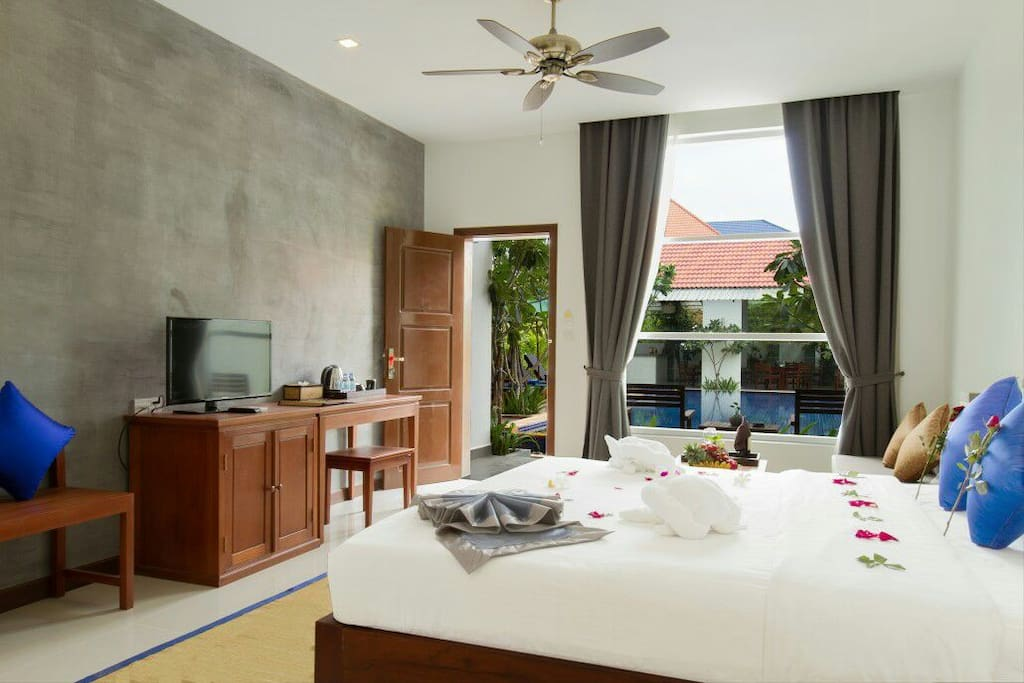 All Rooms are Poolview & Garden View