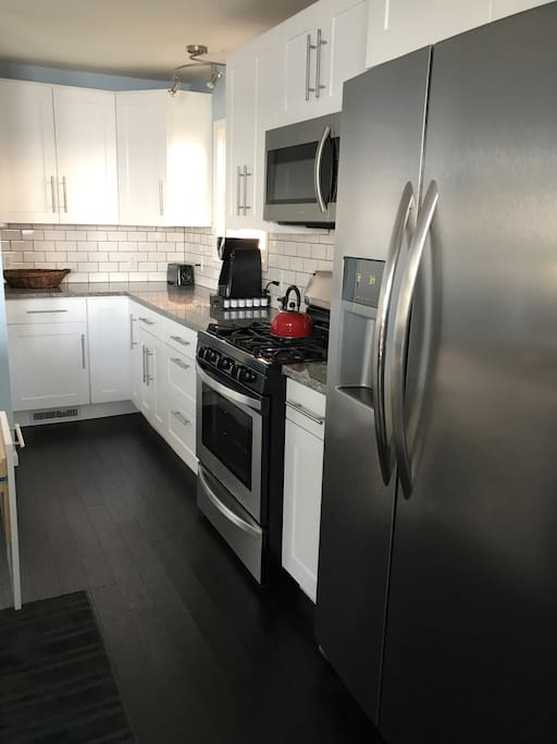 Newly Remodeled Kitchen, Coffee is provided.