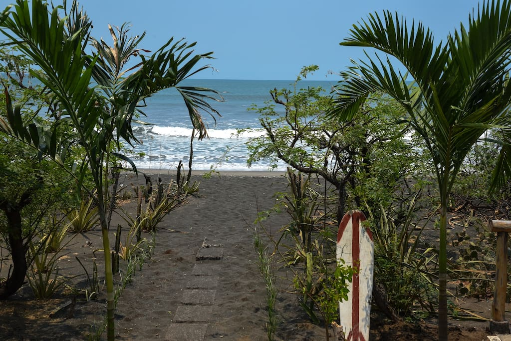 Walk way to the beach