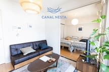 CANAL NESTA N5 - Clean and Modern Accommodation in the heart of Fukuoka City!