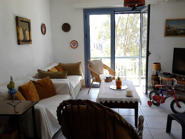 BEAUTIFUL-COMFORTABLE -PEACEFUL HOUSE NEAR THE SEA - Nisi - Daire
