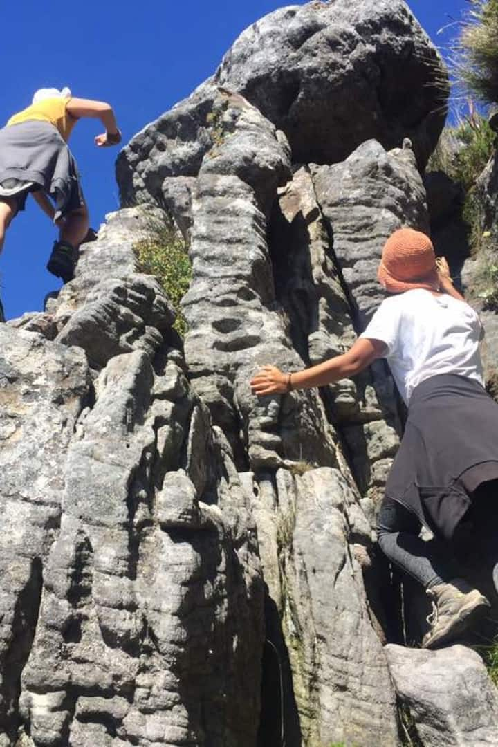 Challenge yourself and try scrambling
