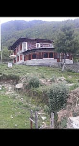 it has good view of Drukgyal Dzong from the window