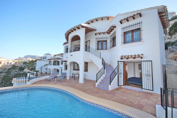Villa Karma Meerblick privat Pool - Pego - Maison