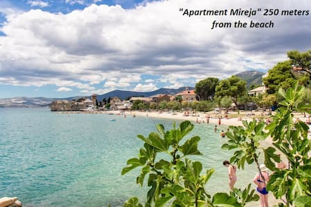 SEA view Apartment-15min from Split-10 from Trogir