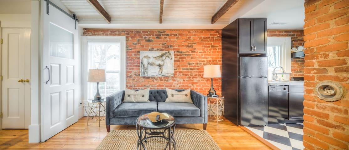 Elegant Downtown Belmont Apartment - Charlottesville - Lejlighed