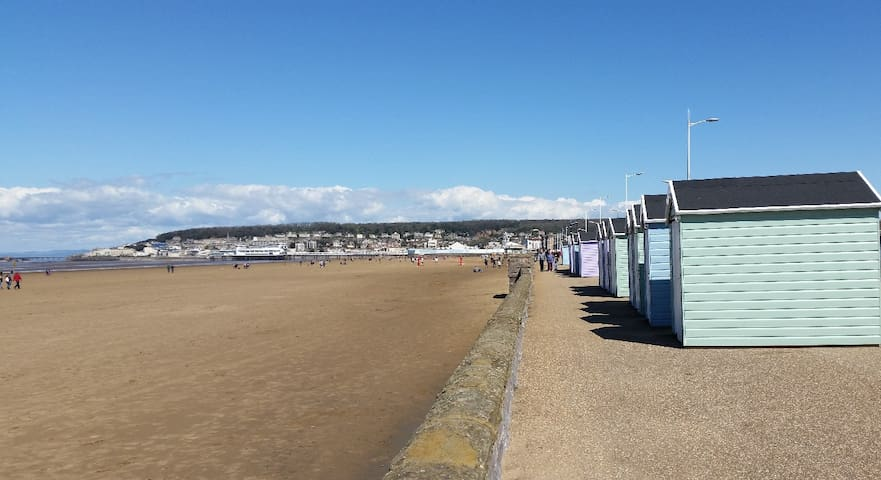 Enjoy this sun! Was £99 now £79 + 5% Weekly in May - Weston-super-Mare - Apartemen