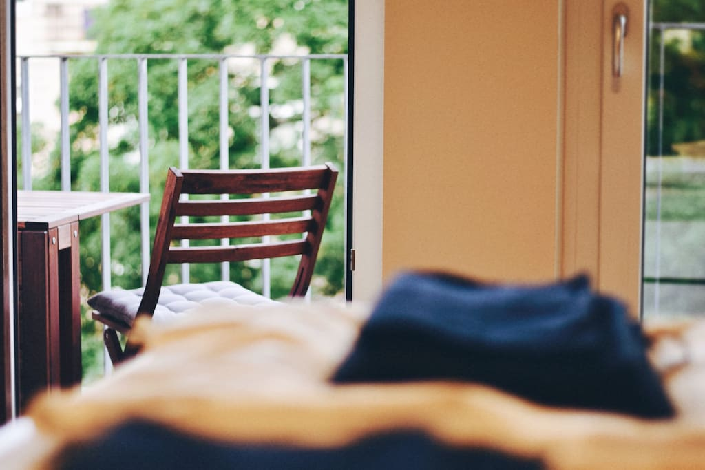 Bedroom balcony access