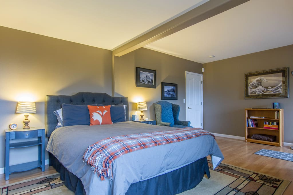 Clean, roomy and comfortable. Everything you need for a relaxing stay