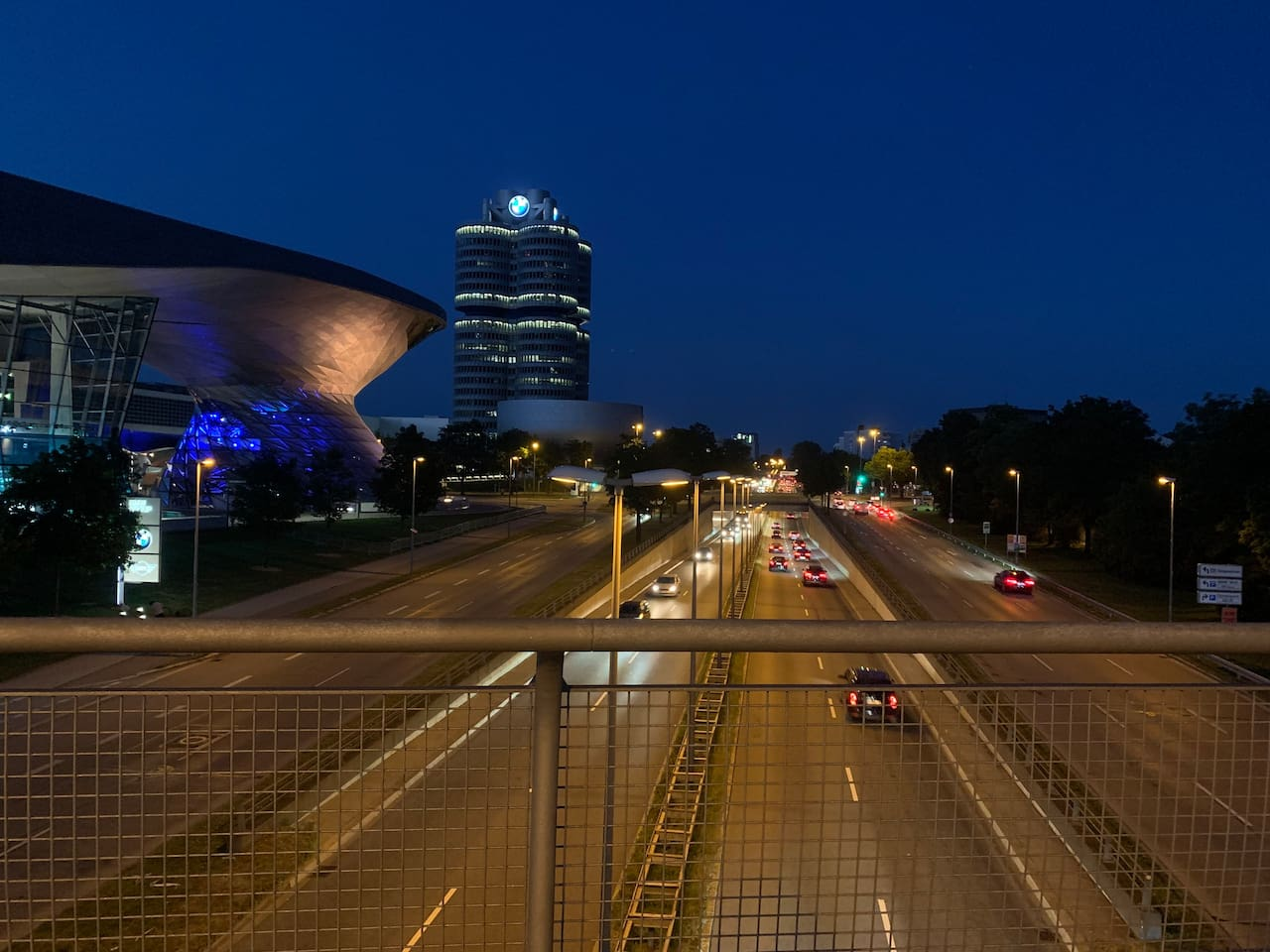 Approximately 5 Minutes walk to BMW Welt & BMW Museum.