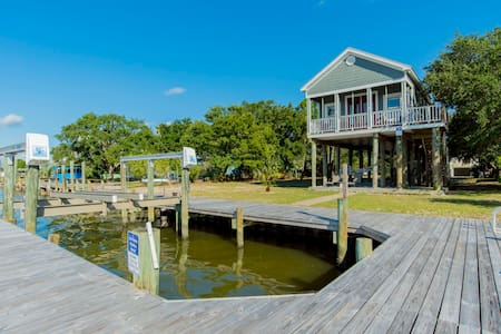 Ocean front House - Dock/Lift! Great Views! Kayak