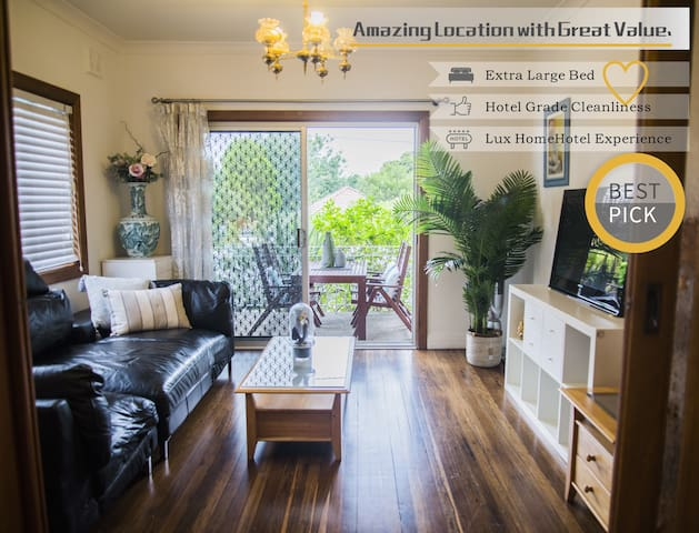 Bright&Spacious Home with hotel grade cleanliness.