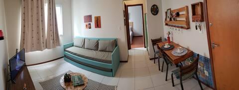 Apartamento central com garagem