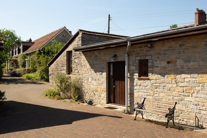 Stylish stone built barn conversion