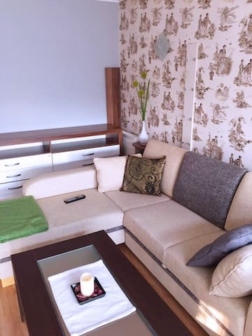 Aparment with huge terrace near the city center!