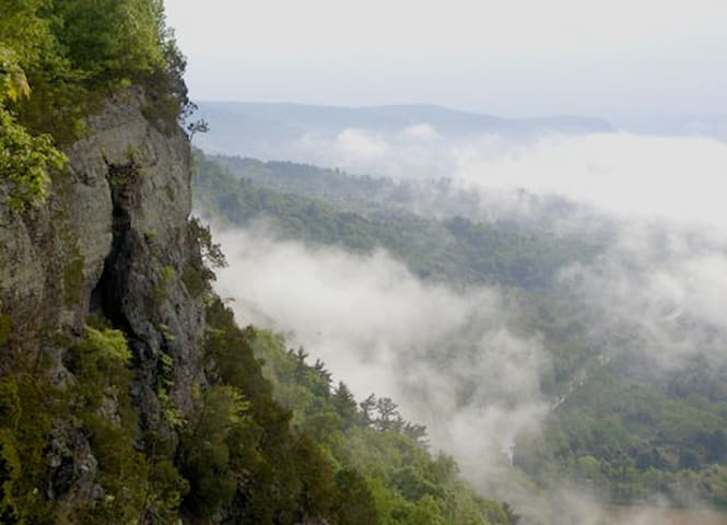 Nearby views on the Appalachian Trail