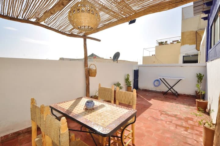 Lumineux appartement avec terrasse privé sunny☀️