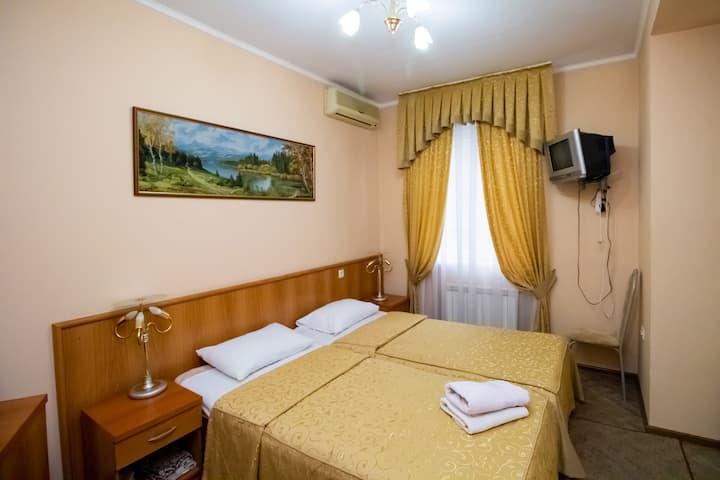 Двухместный номер в отеле Аист Сочи
