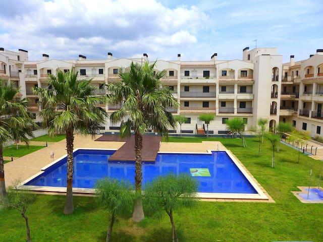 RESIDENCIAL LA CALA (acceso directo a la playa) - Miami Platja - Apartamento